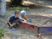 Sandbox friends