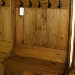 Contemporary Kitchen Islands Quality Cabinet Brands Pine Mennonite Deacons Bench With Coat Hooks - Lloyd's ...