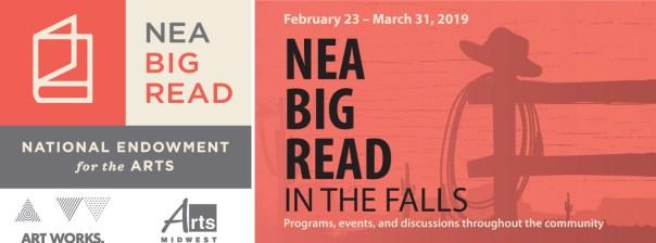 NEA Big Read in the Falls logo