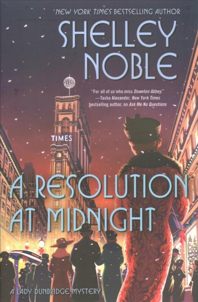 A Resolution at Midnight book cover