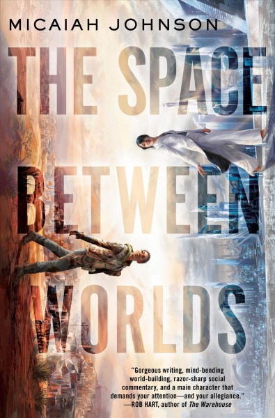 The Space Between Worlds book cover