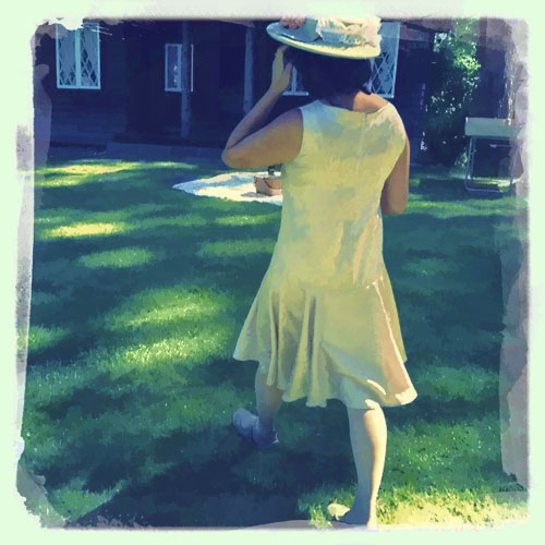Vintage Wear at Great Gatsby Festival © lynette sheppard