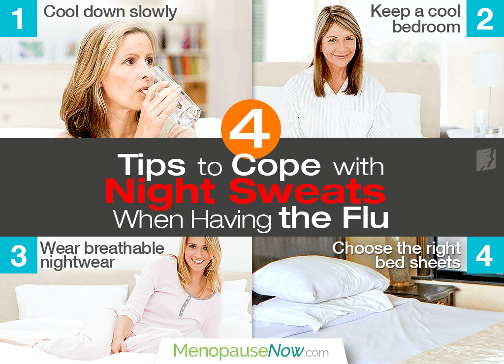 Top 4 Tips to Cope with Flu Night Sweats | Menopause Now