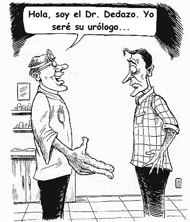 humor doctor dedazo