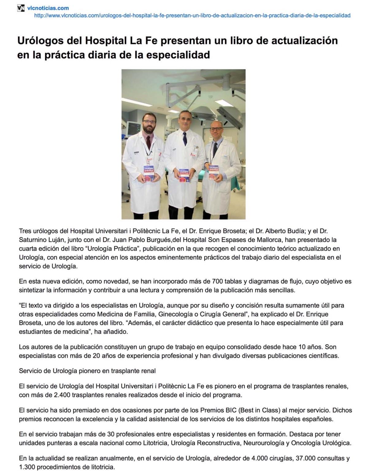 Presentación Urología Práctica