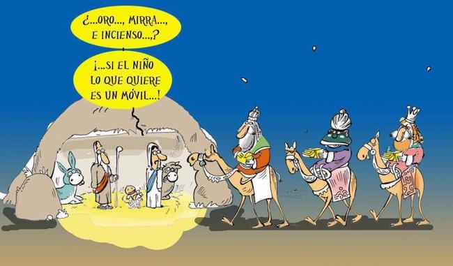 Humor Reyes Magos