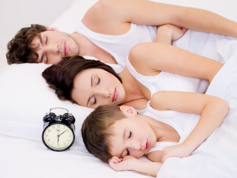 parejas con hijos