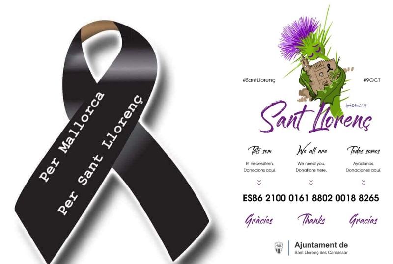 Solidaridad con los afectados en las inundaciones de Sant Llorenç