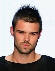 mens short hairstyles 2012