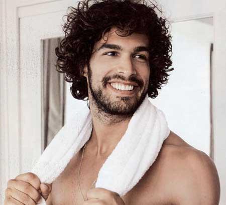 7 Best Mens Curly Hairstyles Mens Hairstyles 2018