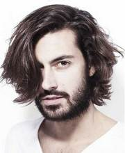 messy hairstyles men oftrend