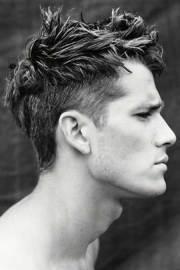 cool messy hairstyles men mens