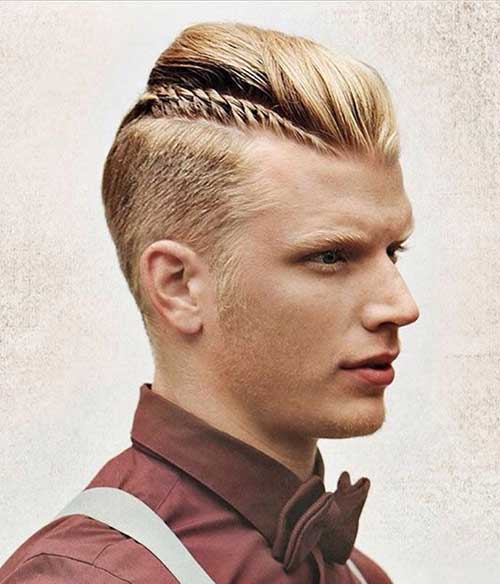 Men Mohawk Hairstyle Mens Hairstyles 2016