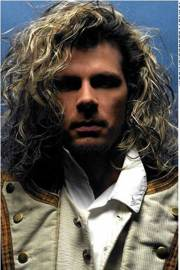 mens long curly hairstyles