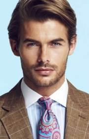 men straight hairstyles