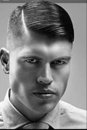 slick hairstyles men mens