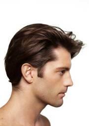 straight hairstyles men