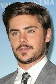 zac efron short hair
