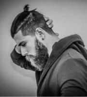 men ponytail hairstyles mens