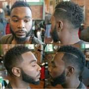 black mens mohawk hairstyles