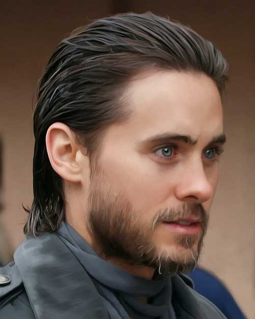 Image Result For Slick Back Long Hair