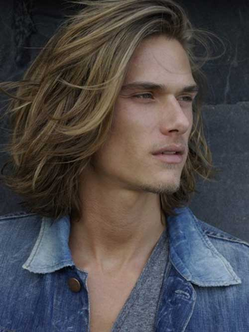 Guys With Long Blonde Hair Mens Hairstyles 2016