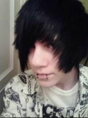 emo hairstyles men