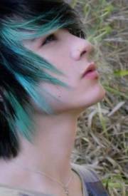guys with blue hair mens hairstyles