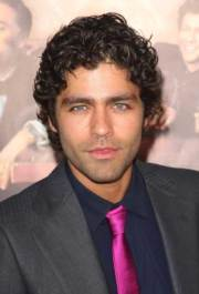 male celebrities with curly hair
