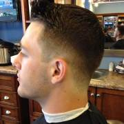 mens haircut shaved sides