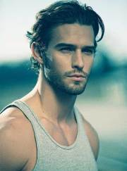 mens hairstyles thick wavy