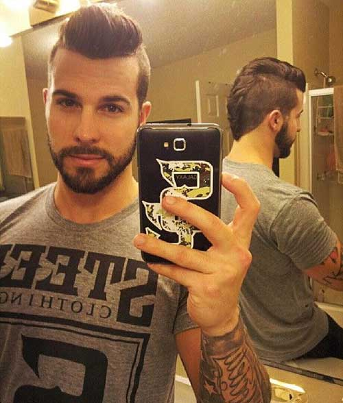15 Mens Haircut Shaved Sides Mens Hairstyles 2018