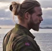 cool men with long hair mens