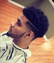 types of fade haircuts black
