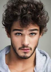 curly mens hairstyles 2014