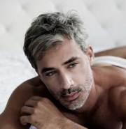 men with gray hair mens