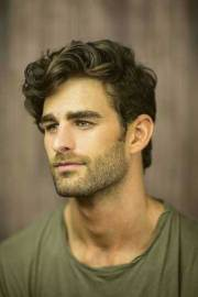 latest mens wavy hairstyles