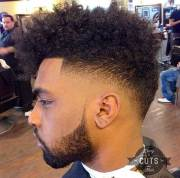 black haircuts men