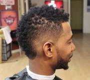 black men fade haircuts mens