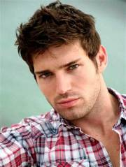 guy with brown hair mens