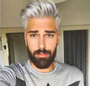 grey hair color coolest guys