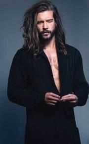 long hairstyles men mens