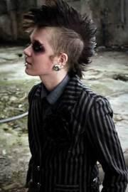 cool punk hairstyles rebel