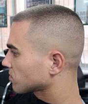 army style short haircuts men