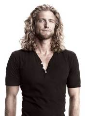 inspirational men's long hairstyle