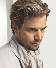 hairstyles mens medium hair