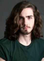 latest men long hair ideas