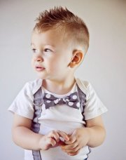 trendy and cute toddler boy