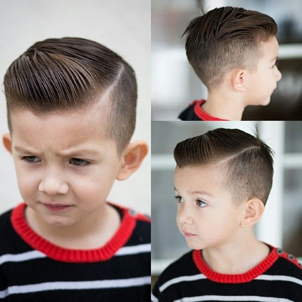 43 Trendy And Cute Boys Hairstyles For 2017