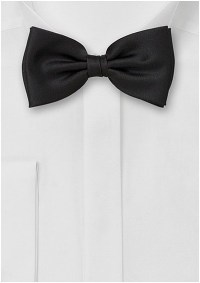 Formal Black Bow Tie for Boys